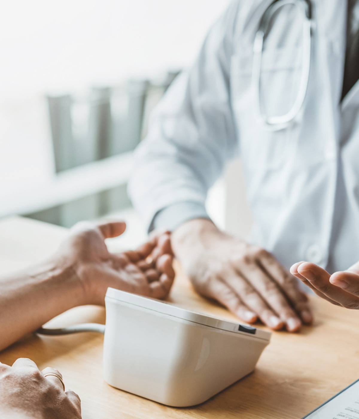 Dupuytren's Contracture - Doctor Examining Hand